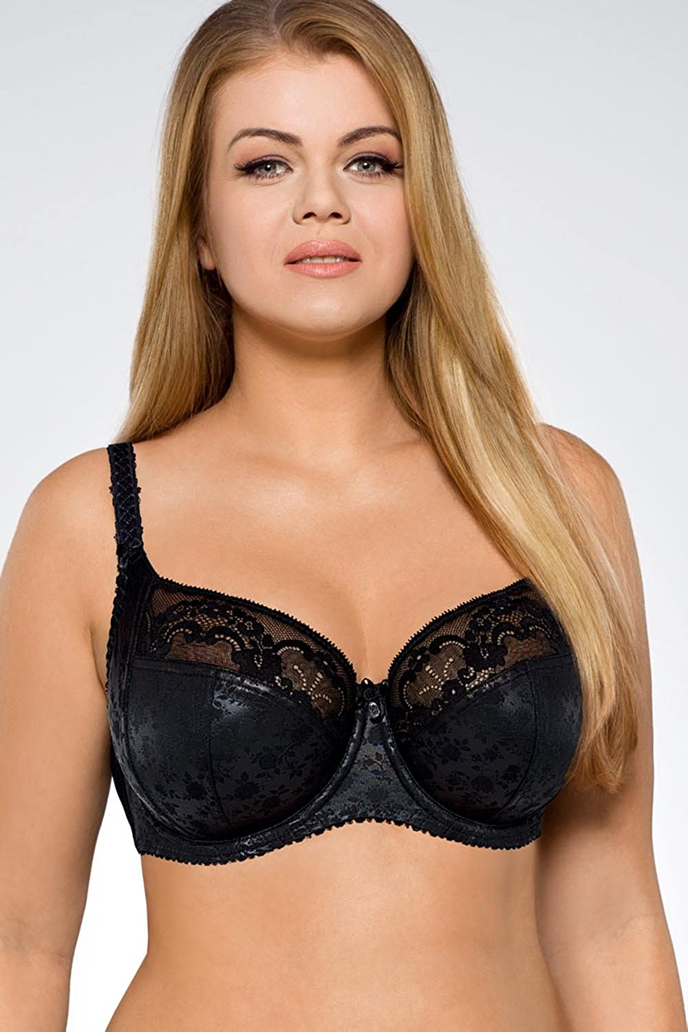Ava 1130 Underwired Non Padded Bra Full Cup Floral Lace Ladies Lingerie