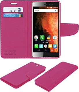 reputable site 3b7a8 77dd2 Acm Leather Flip Wallet Case for Micromax Canvas 6 E485: Amazon.in ...