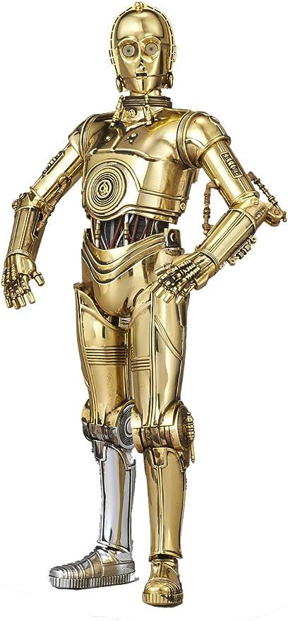 Amazon.com: Bandai Hobby Star Wars Character Line 1/12C-3PO Star ...
