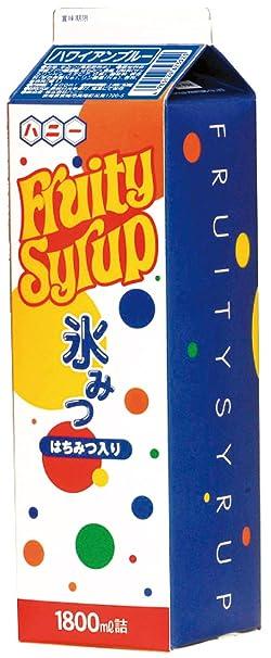1.8L Blue Hawaiian miel miel de hielo S