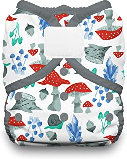 product image for Thirsties Duo Wrap Cloth Diaper Cover, Hook and Loop Closure, Forest Frolic Size One (6-18 lbs)