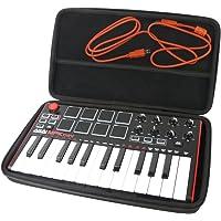 Für Akai Professional MPK Mini MKII Kompakter USB MIDI Keyboard & Pad Controller EVA Hart Reise Tragetasche Tasche von Khanka.