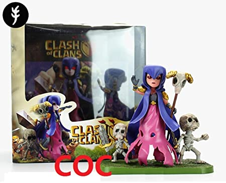 Top Top 2015 Games Of Clash Of Clans Coc Witch Figure Model