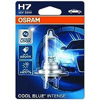 Osram 64210 H7 halogeenkoplamp, 12V Cool blue Intense Einzelblister blauw (blauw)