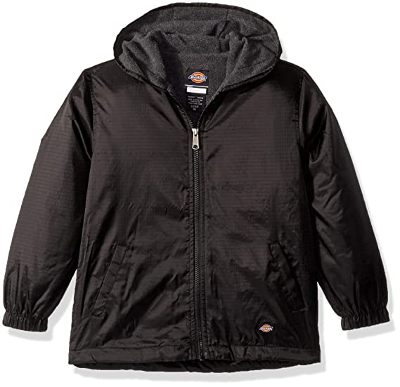 367fbe072d9 Dickies Kids Fleece Lined Hooded Jacket: Amazon.co.uk: Clothing