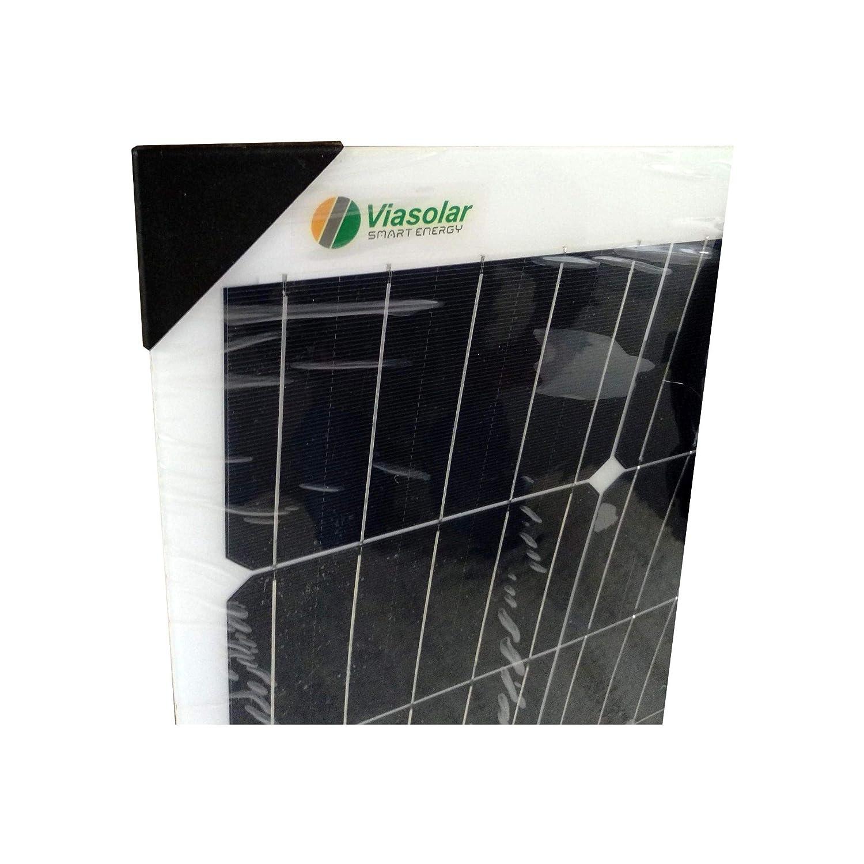 VIASOLAR Kit 200W Flex PRO 12V Pannello Solare Flessibile