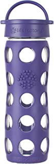 product image for Lifefactory 16 Ounce Glass Beverage Bottle Royal Purple