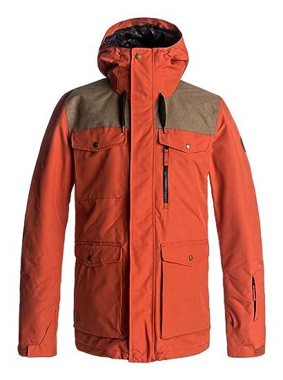 2ba4a857f274 De Homme Rouge Snow Quiksilver Veste S Raft BwxTEx8qZ