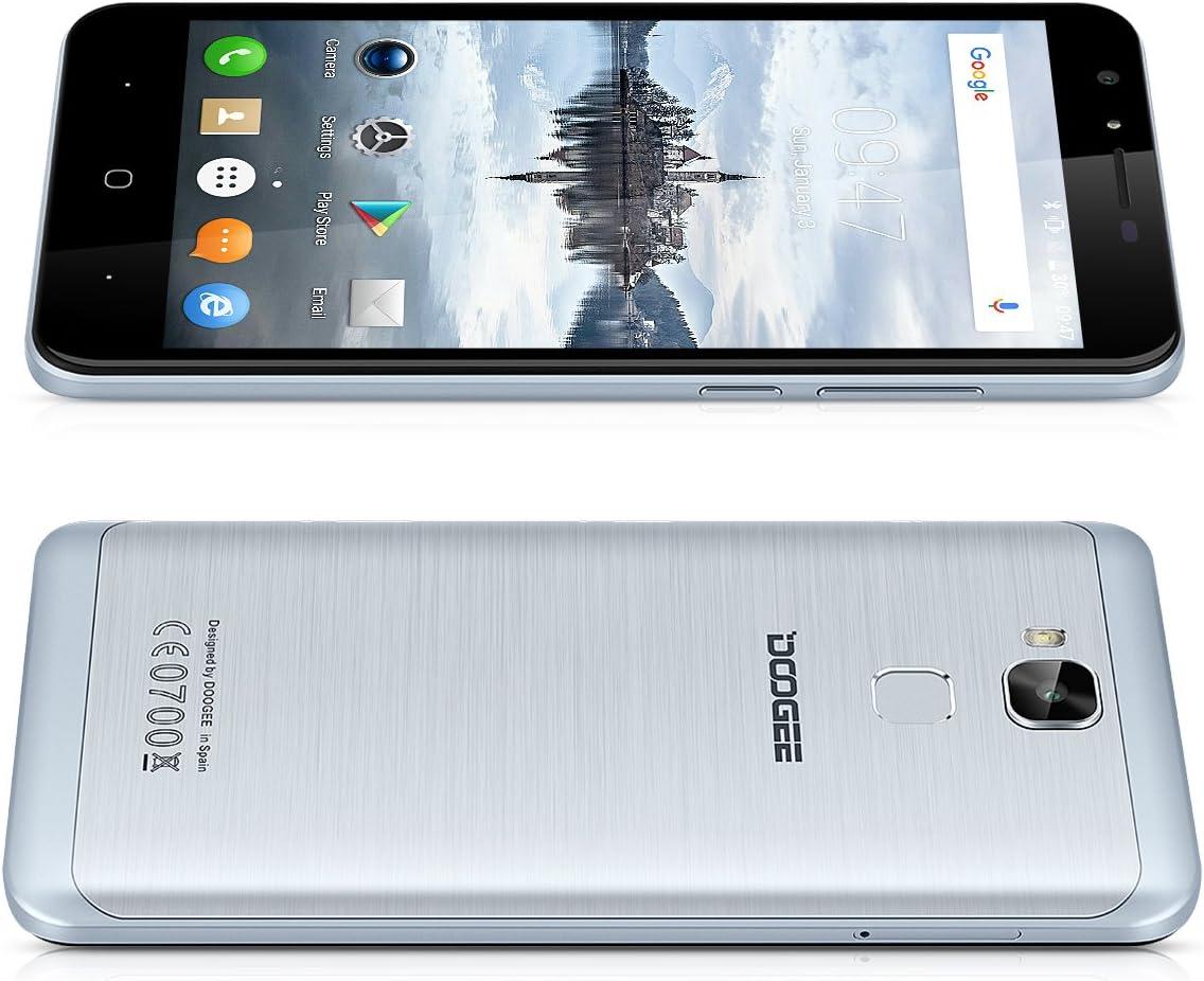 DOOGEE Y6C - Smartphone Libre 4G LTE (Android 6.0, Pantalla 5.5 ...