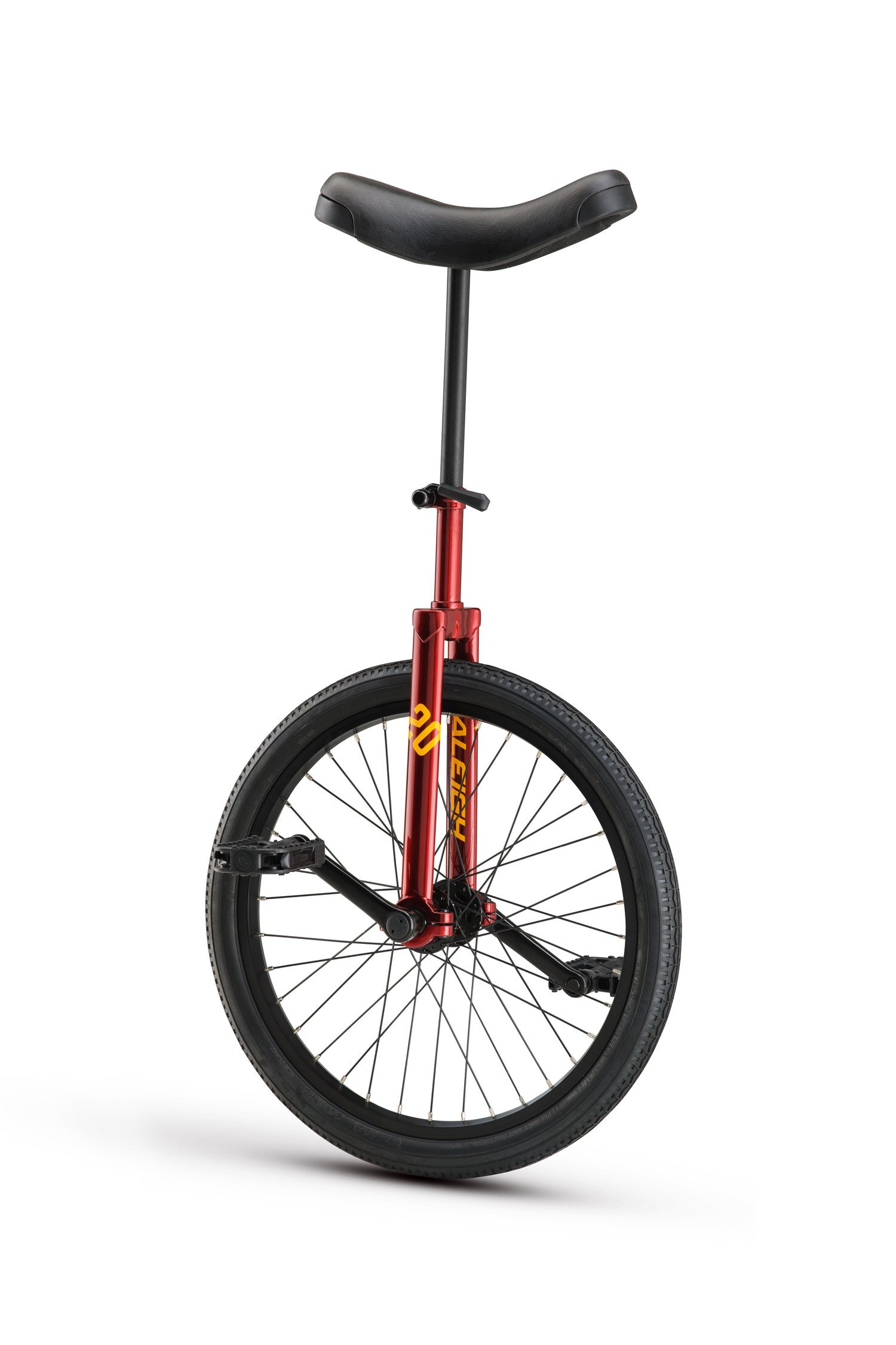 RALEIGH Unistar 20, 20inch Wheel Unicycle, Red,
