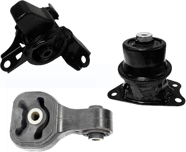 Engine Motor /& Transmission Mount 3PCS 2012 for Honda Civic Coupe 1.8L for Auto