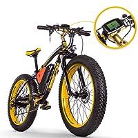 RICH BIT RT-022 Fat E-Bike 1000W 48V 17Ah Vélos électriques LCD Smart E-Bike