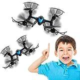 COOCHEER MJX X500 RC Quadcopter Headless Mode 2.4GHZ 6 Axis Gyro 3D Roll Auto Return Drone Black