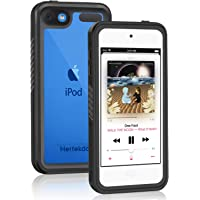iPod Touch 7/6/5 Waterproof Case, Hertekdo IP68 iPod 7/6/5 Case Underwater Full Sealed Cover with Kickstand Dustproof Snowproof Shockproof iPod Touch 7th Generation Case, iPod Touch 6th Generation Case, iPod Touch 5th Generation Case