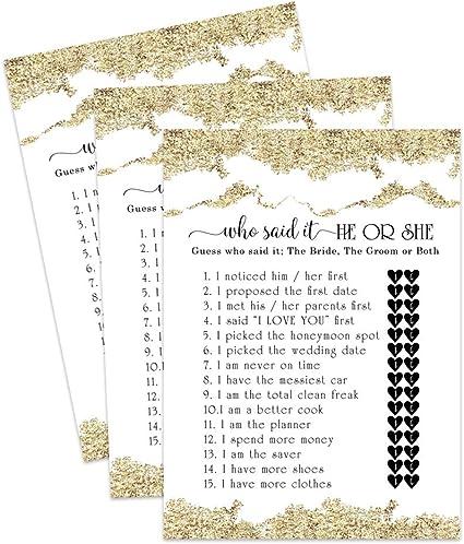 Amazon.com: Juego de 25 tarjetas de felicitación para boda ...