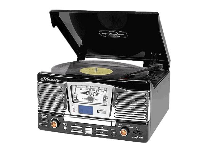 5 opinioni per Trevi TT 1065 E Giradischi Stereo CD con Funzione Encoding, Nero