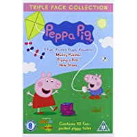 Peppa Pig: Muddy Puddles/Flying A Kite/New Shoes [Edizione: Regno Unito] [Edizione: Regno Unito]