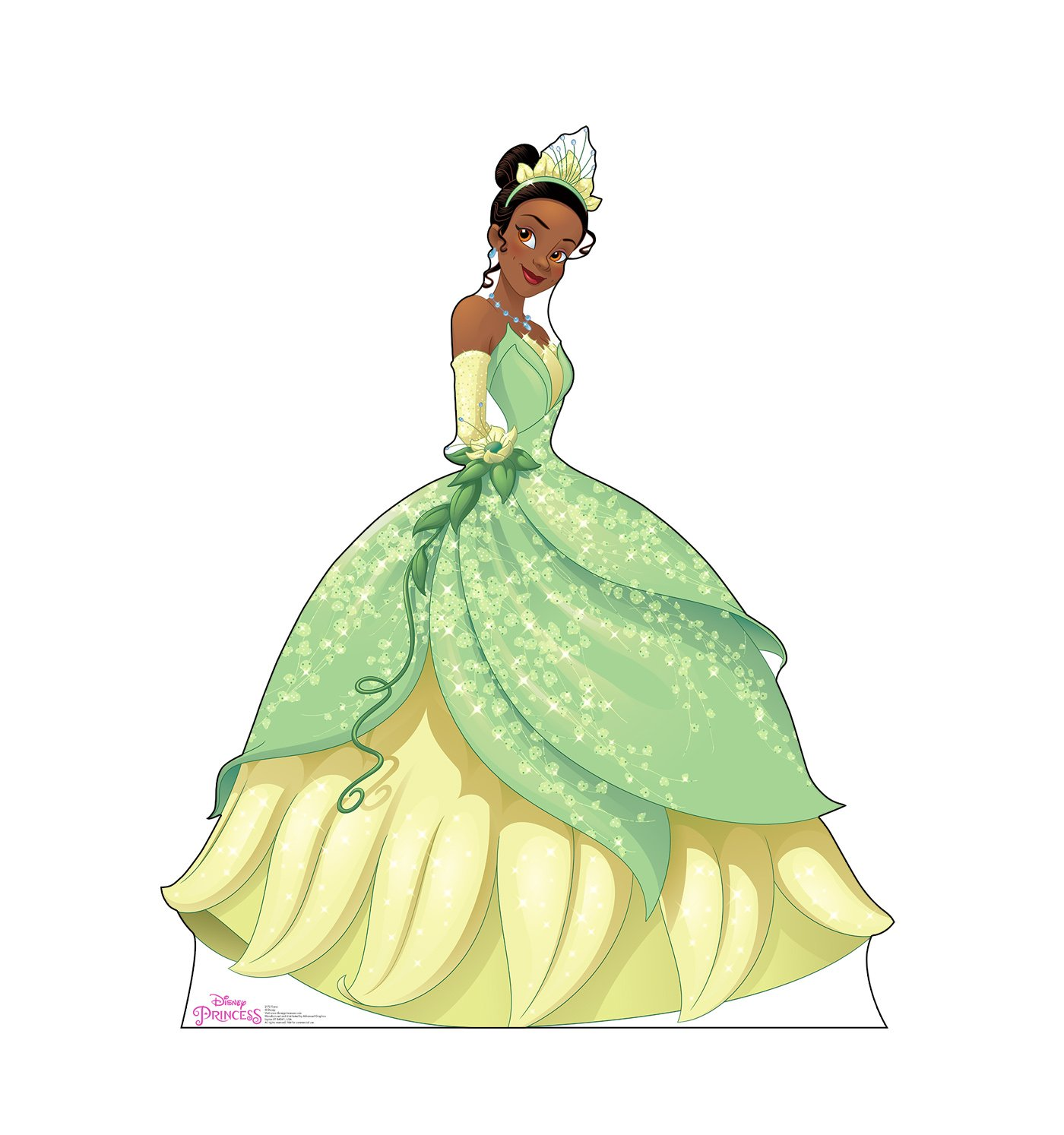 Advanced Graphics Tiana Life Size Cardboard Cutout Standup - Disney Princess Friendship Adventures