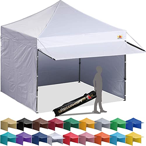 ABCCANOPY Canopy Tent 10 x 10 Pop-up Instant Shelters Commercial Portable Market Canopie