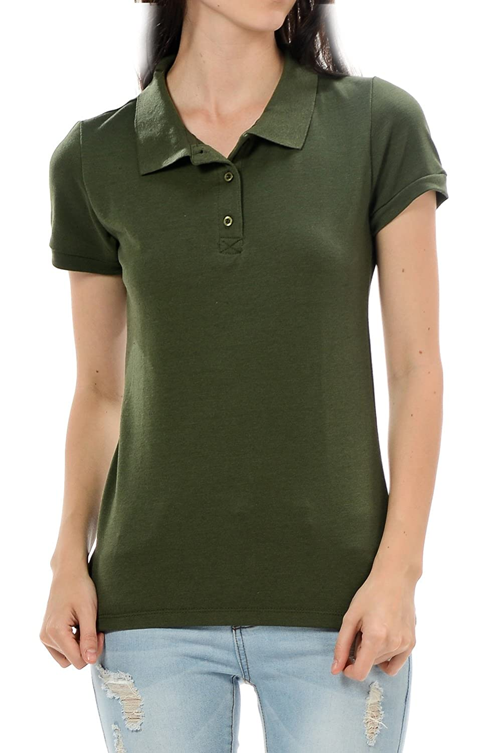 YourStyle Classic Stretch Pique Polo Shirts- Various Colors