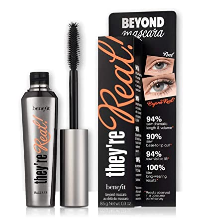 Benefit Cosmetics Theyre Real Beyond Mascara .3 Oz Black
