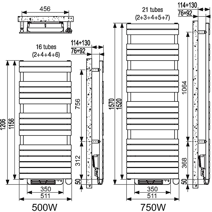 Handtuchtrockner, Xilo ELEC. Air 718 W irsap: Amazon.de: Beleuchtung