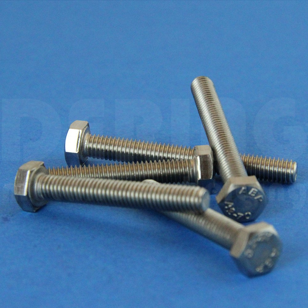 100 unidades Tornillos hexagonales M16, arandelas y tuercas DERING®