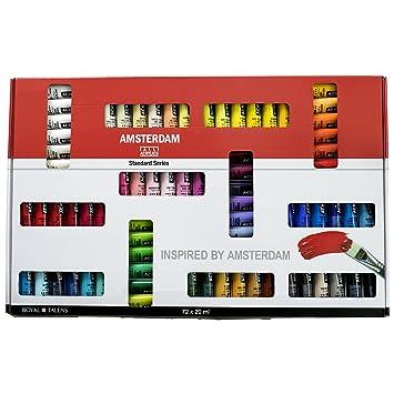 Amsterdam Acrylfarben Set 72 X 20 Ml Acrylfarbe Acryl Farben