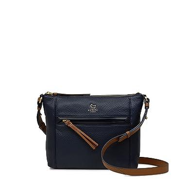 dea4a45da534e Radley Postman's Park Small Zip Top Cross Body Bag - SMALL, INK ...