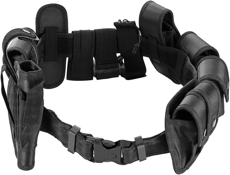 Rig Gear Nylon Police Officer Security Guard Law Enforcement Equipment Duty Belt