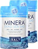 Minera Dead Sea Salt. 100% Pure and Certified. Natural Treatment For Psoriasis, Eczema, Acne And More