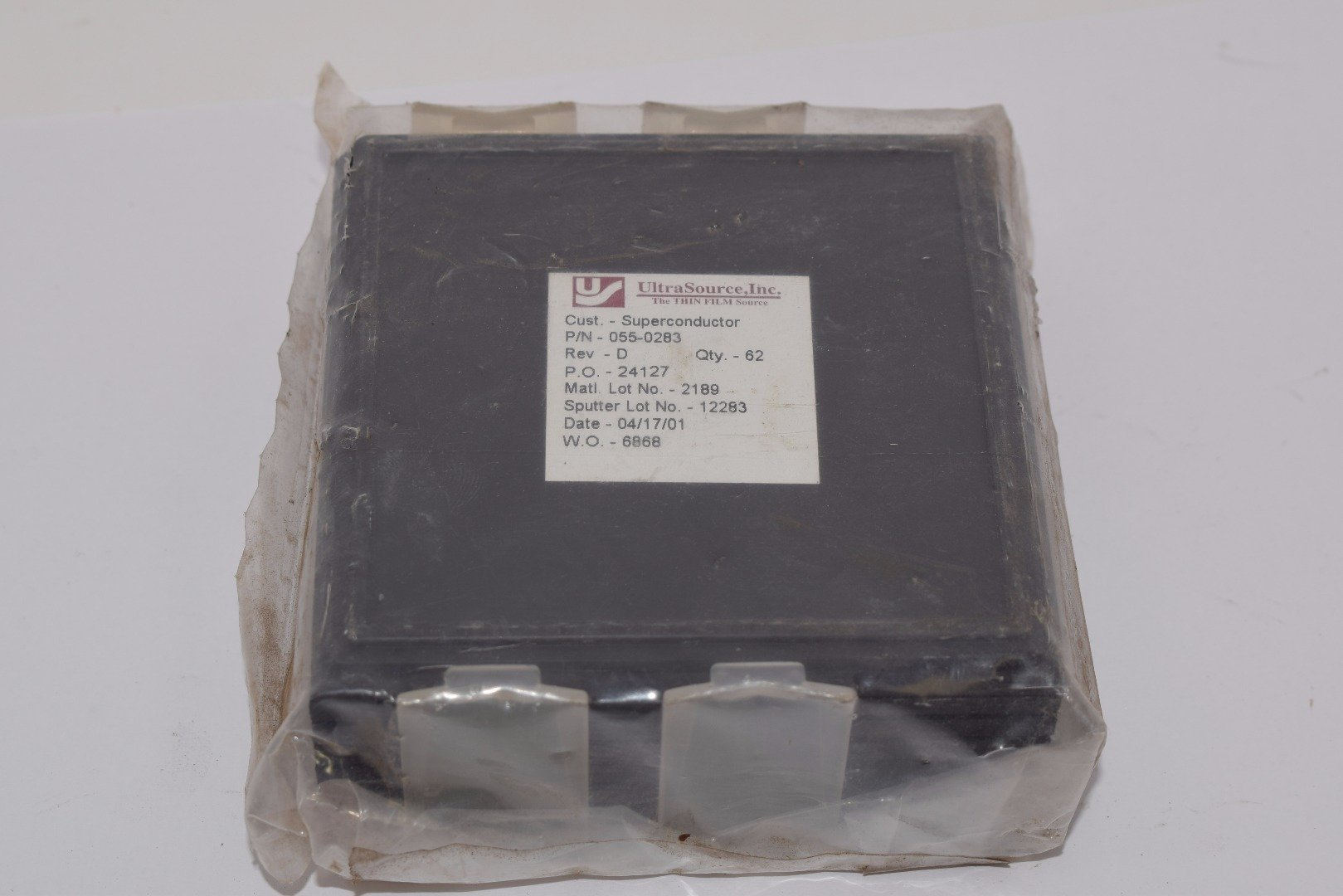 Lot of 62 NEW Superconductor UltraSource 055-0283 Rev D Thin Film Sensor