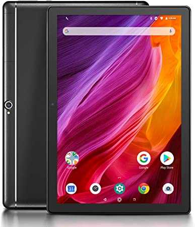 Comprar Dragon Touch K10 Tablet 10.1 Pulgadas 1280x800 HD IPS Tablet Android 8.1 con WiFi Bluetooth Procesador Quad-Core RAM de 2GB 16GB de Memoria Interna Doble Cámara Negro