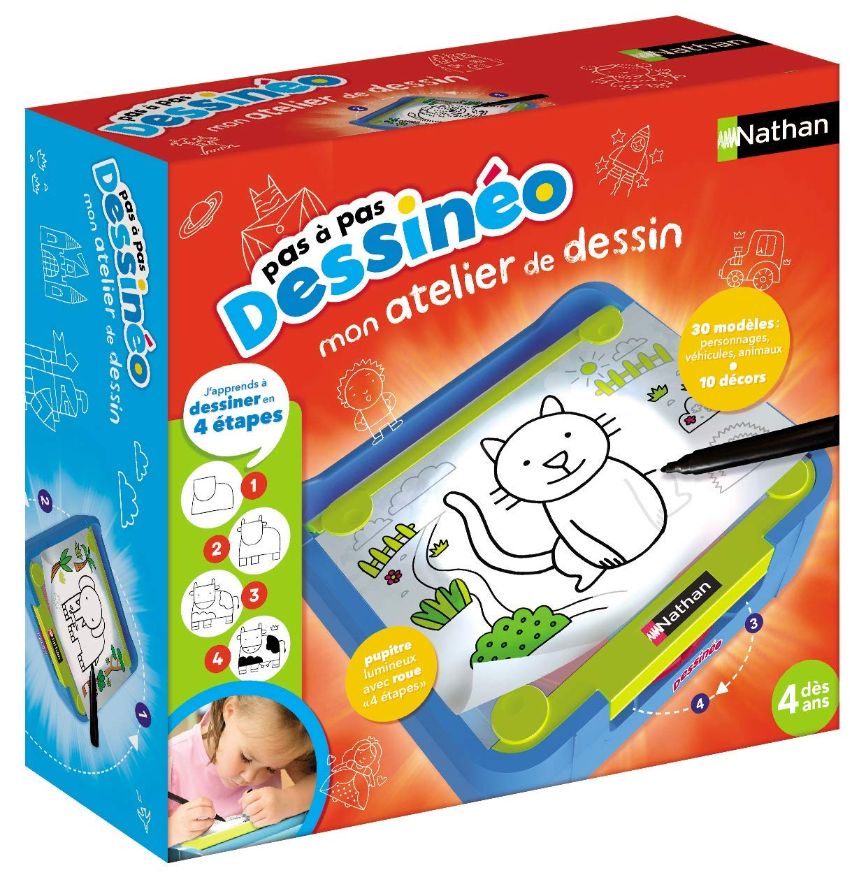 Nathan 31141 Dessineo Step By Step Amazon Co Uk Toys Games