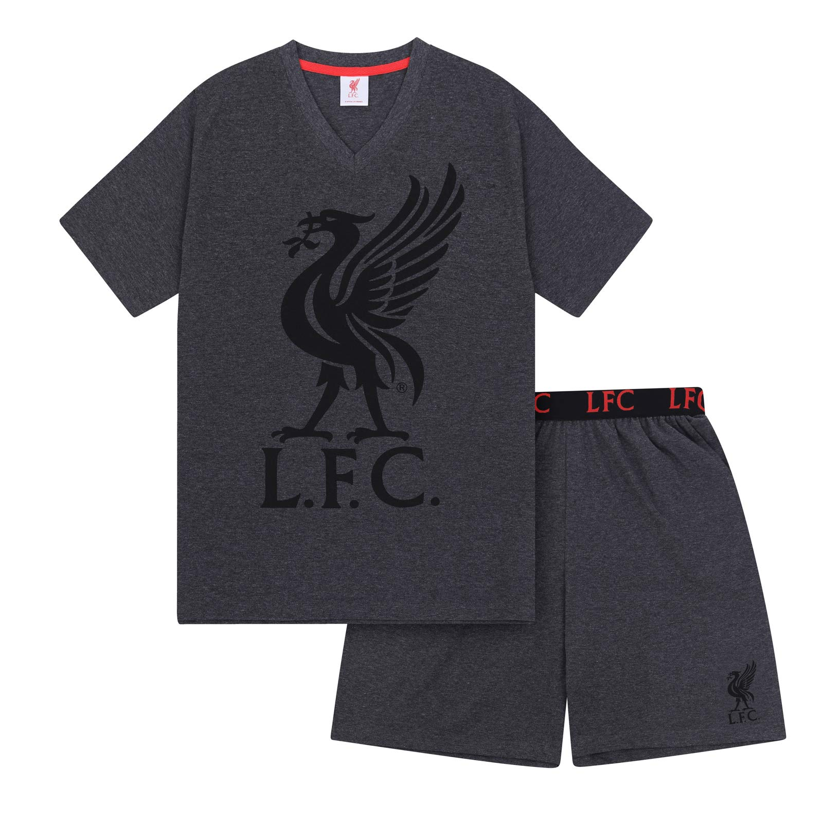 Size 6-11 1 PAIR Mens Black LIVERPOOL FC Official Football Club Dress Socks