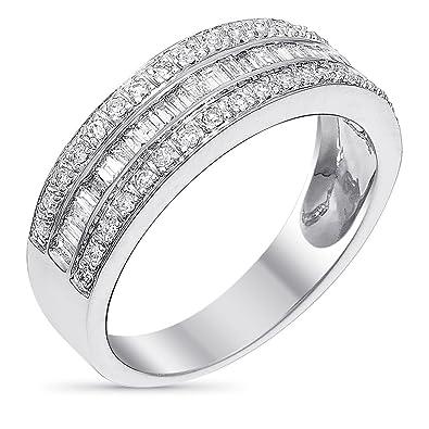 bague diamant baguette prix