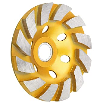 "Diamond Segment Grinding Wheel Discs 4/"" Grinder Cup Concrete Stone Cut Tools"