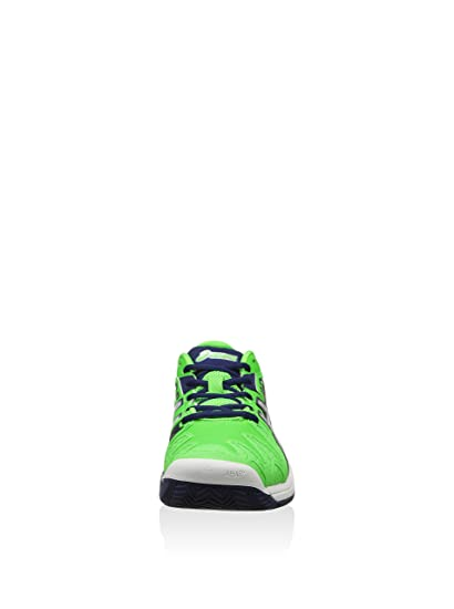 Asics - Gelresolution 5 Clay 7093 - E302Y7093 - Color: Blanco-Verde - Size: 49.0 3t5zMn