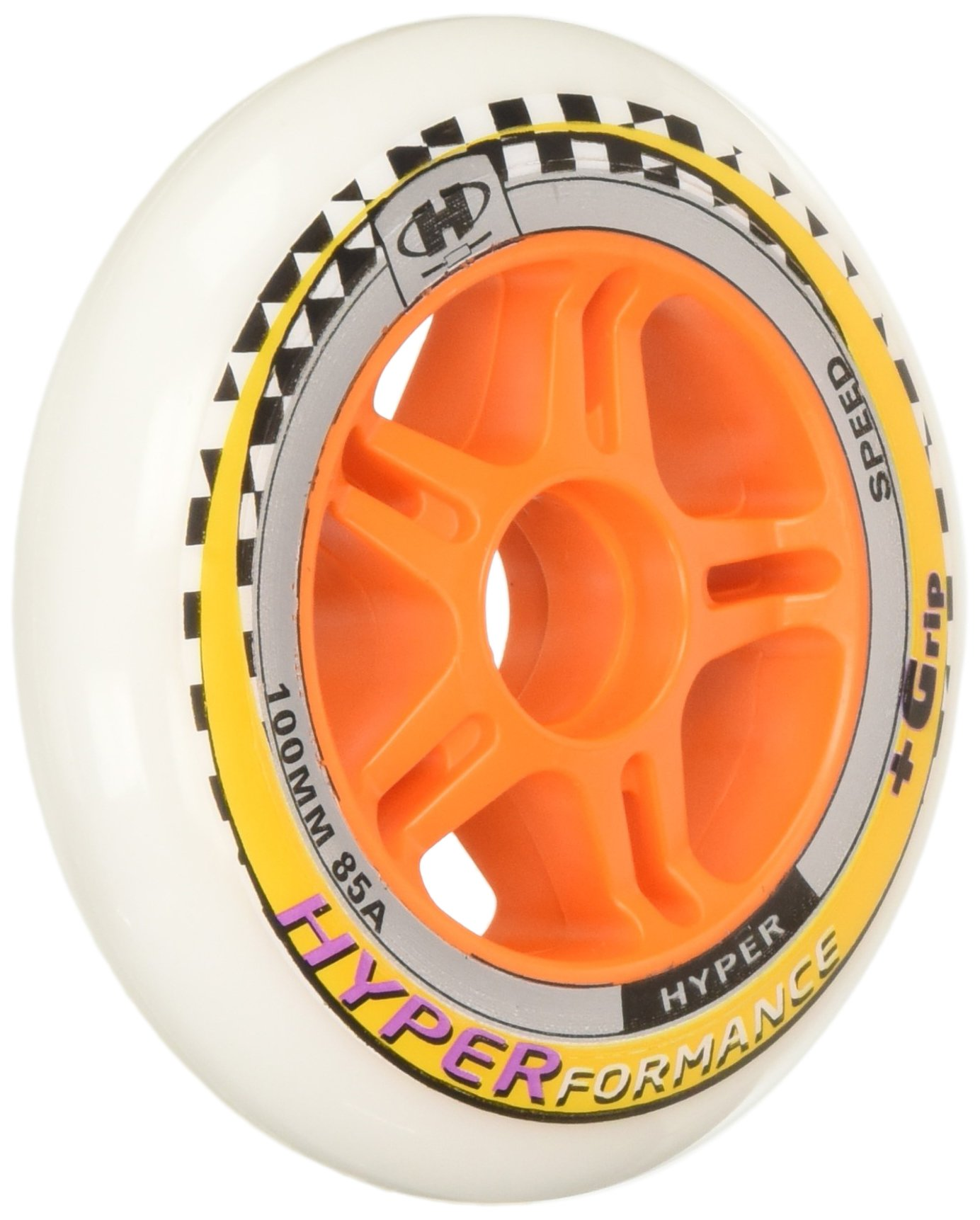 HYPER HYPERFORMANCE 84MM/85A (8 WHEELS per pack) - inline skate wheels for speed skating by Hyper Wheels