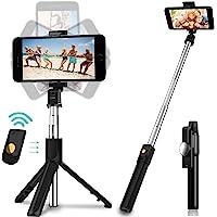 Salandens Palo Selfie Trípode,Selfie Stick Trípode Inalámbrico con Control Remoto,360°Rotación Extensible Selfie Stick…