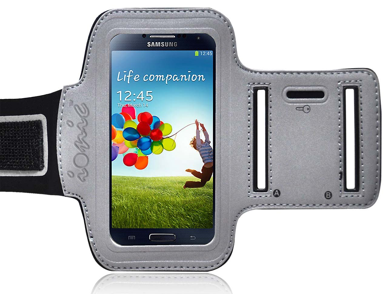 amazon com ionic active sport armband case for samsung galaxy s5