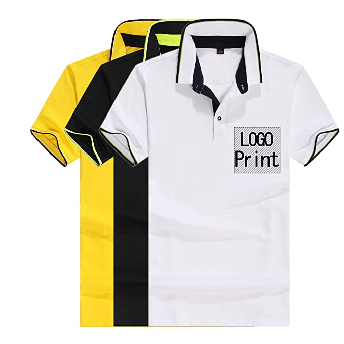 008d85c22df Personalized Custom Polo Shirt Activity Tee Add Your Design Collar T Shirt  Unisex (Man