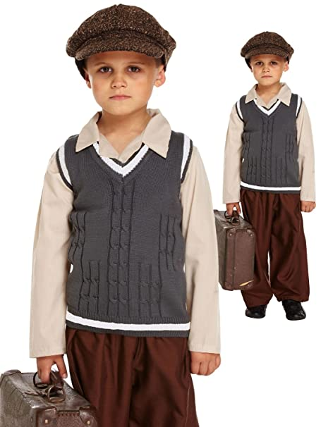 new style d2e0f b1eb4 Global Fashion - Costume da bambino/bambina, in stile orfano ...