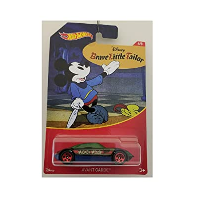 Hot Wheels Avant Garde Brave Little Tailor 4/8 Series Mickey Mouse 2020: Toys & Games