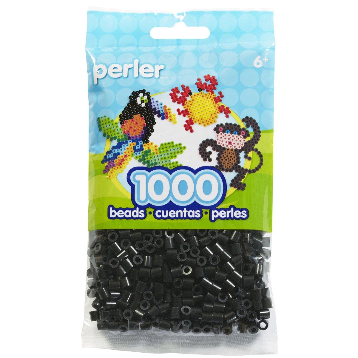Perler 80-19018 Bead Bag, Black Perler Beads