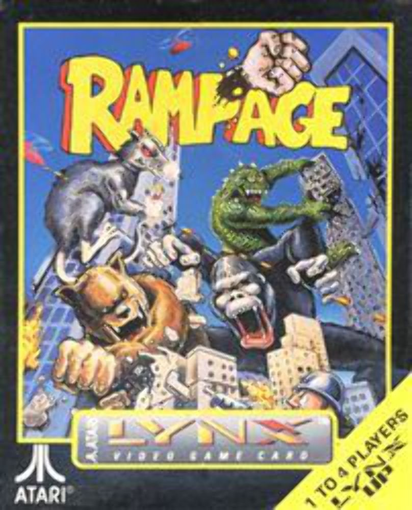 Amazon Com Rampage Video Games