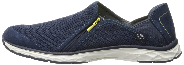 Dr. Scholl's Women's Anna Zip Fashion Sneaker B01KG9VLUM 11 B(M) US Navy Luna Knit