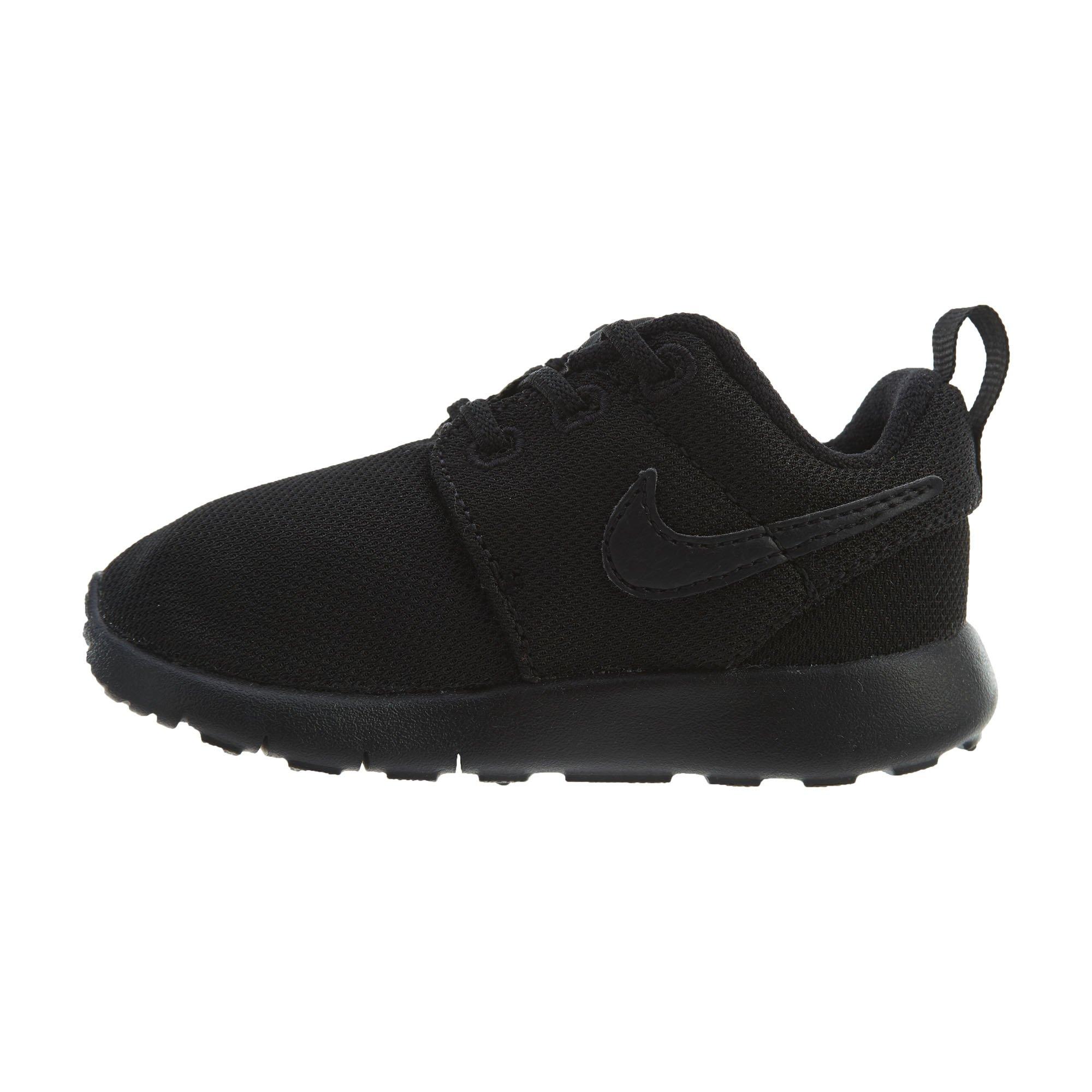 Nike Toddlers' Roshe One (TDV) Black Fabric Running Shoe 6 by Nike (Image #4)