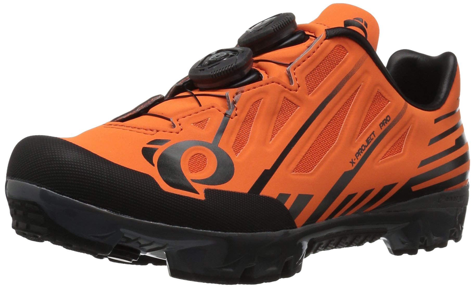 Pearl Izumi x-Project Pro Cycling-Footwear, Screaming Orange/Black, 45 EU/10.8 D US