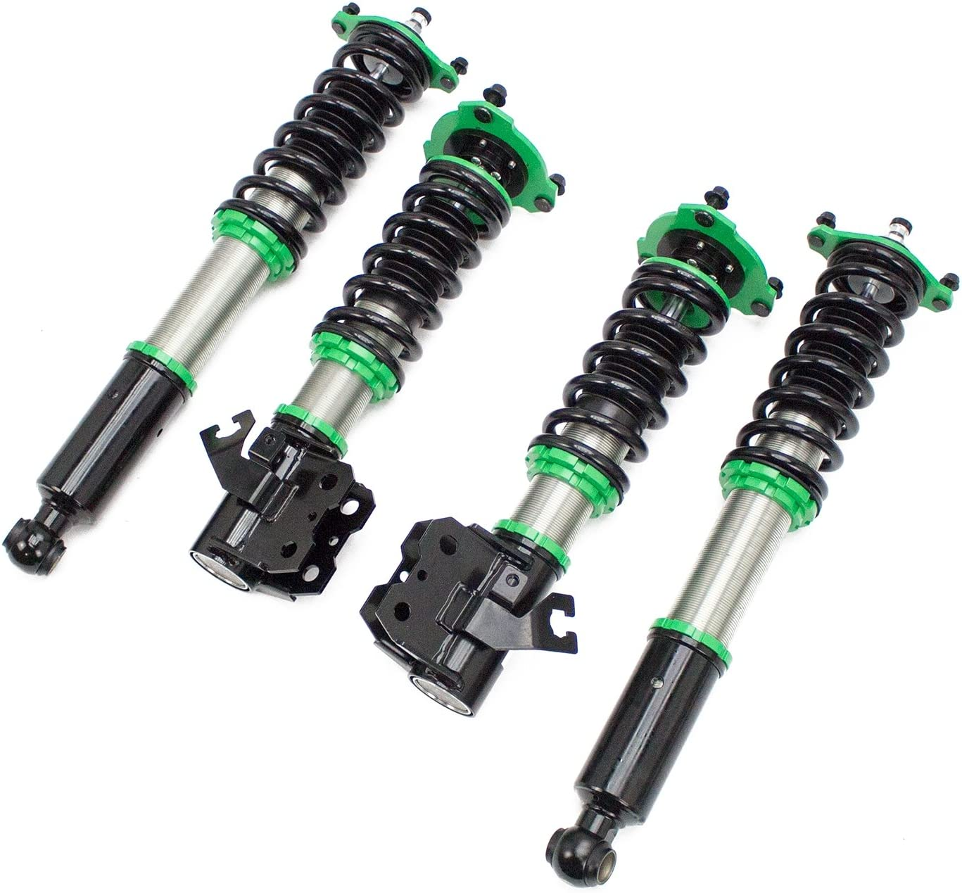 Rev9 R9-HS2-007 compatible with Nissan 240SX 32 Damping Level Adjustment S14 1995-98 Hyper-Street II Coilover Kit w// 32-Way Damping Force Adjustment Lowering Kit Ride Height Adjustable